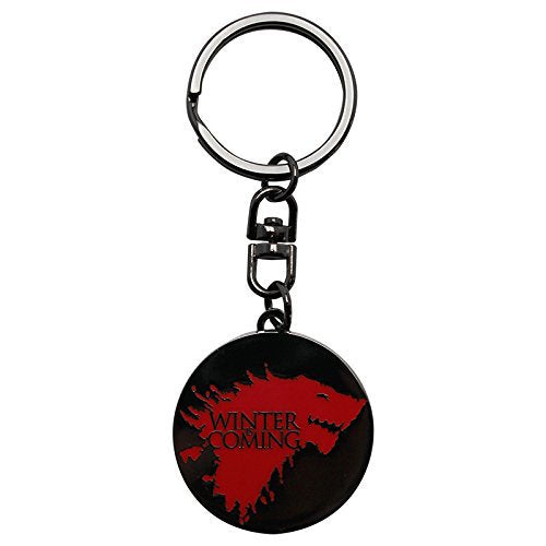 Game Of Thrones Winter Is Coming Metal Keyring Official Product