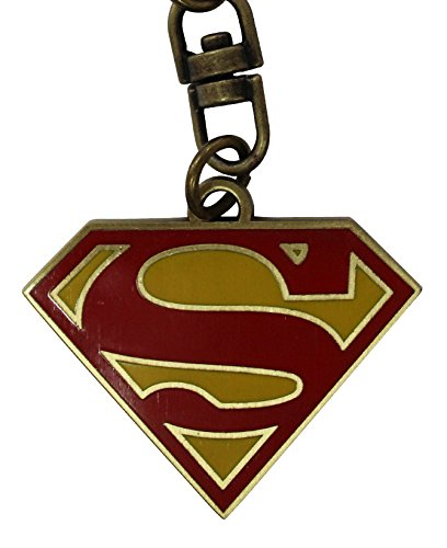 DC COMICS - Superman Logo Key chain Official Product Key Ring Gift