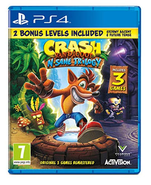 Crash Bandicoot N.Sane Trilogy (PS4) Sony Playstation New Sealed