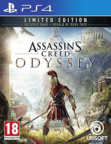 Assassins Creed Odyssey Limited Edition Playstation 4 (PS4) New Sealed