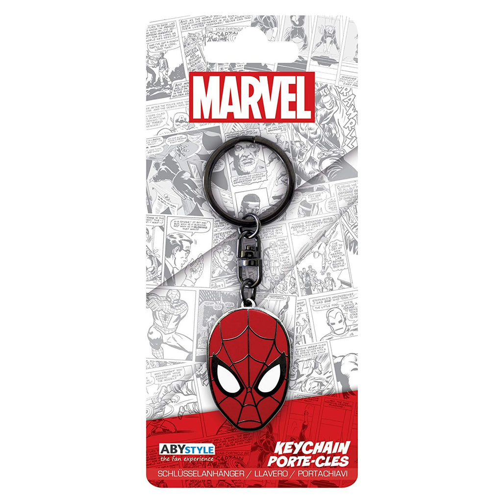 Marvel Spider Man Key Chain/Ring Official Licensed Product Quality Metal