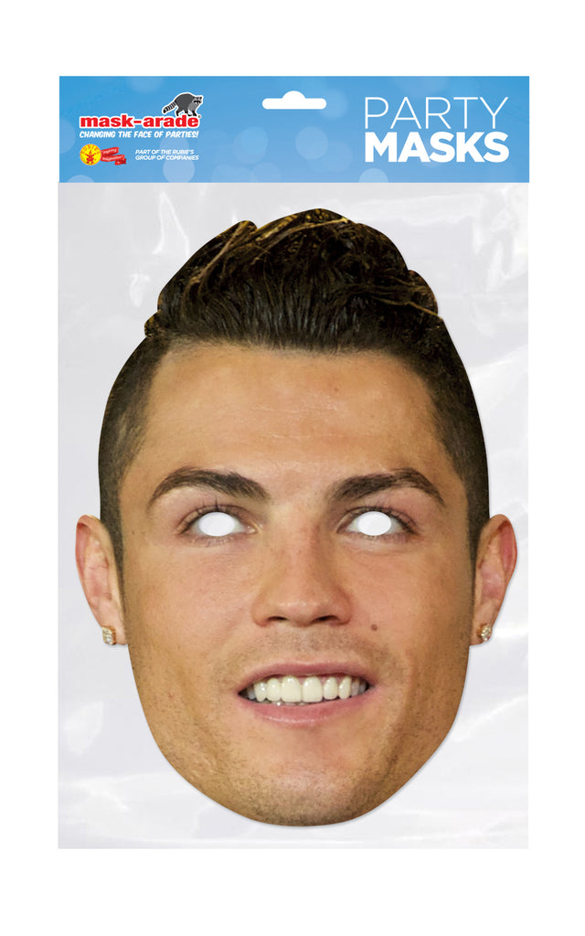 Cristiano Ronaldo Face Mask Party Official Licensed Football Club Juventus