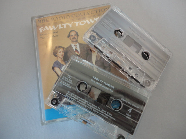 AUDIO CASSETTE BOOK. BBC RADIO FAWLTY TOWERS BASIL
