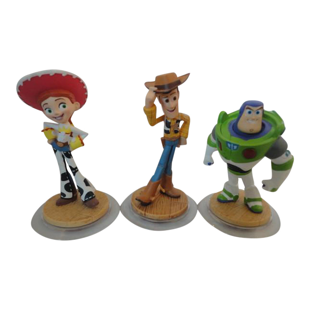 Disney Infinity Figure Bundle -  Buzz Woody & Jessie PS4 Xbox One Wii Wii U
