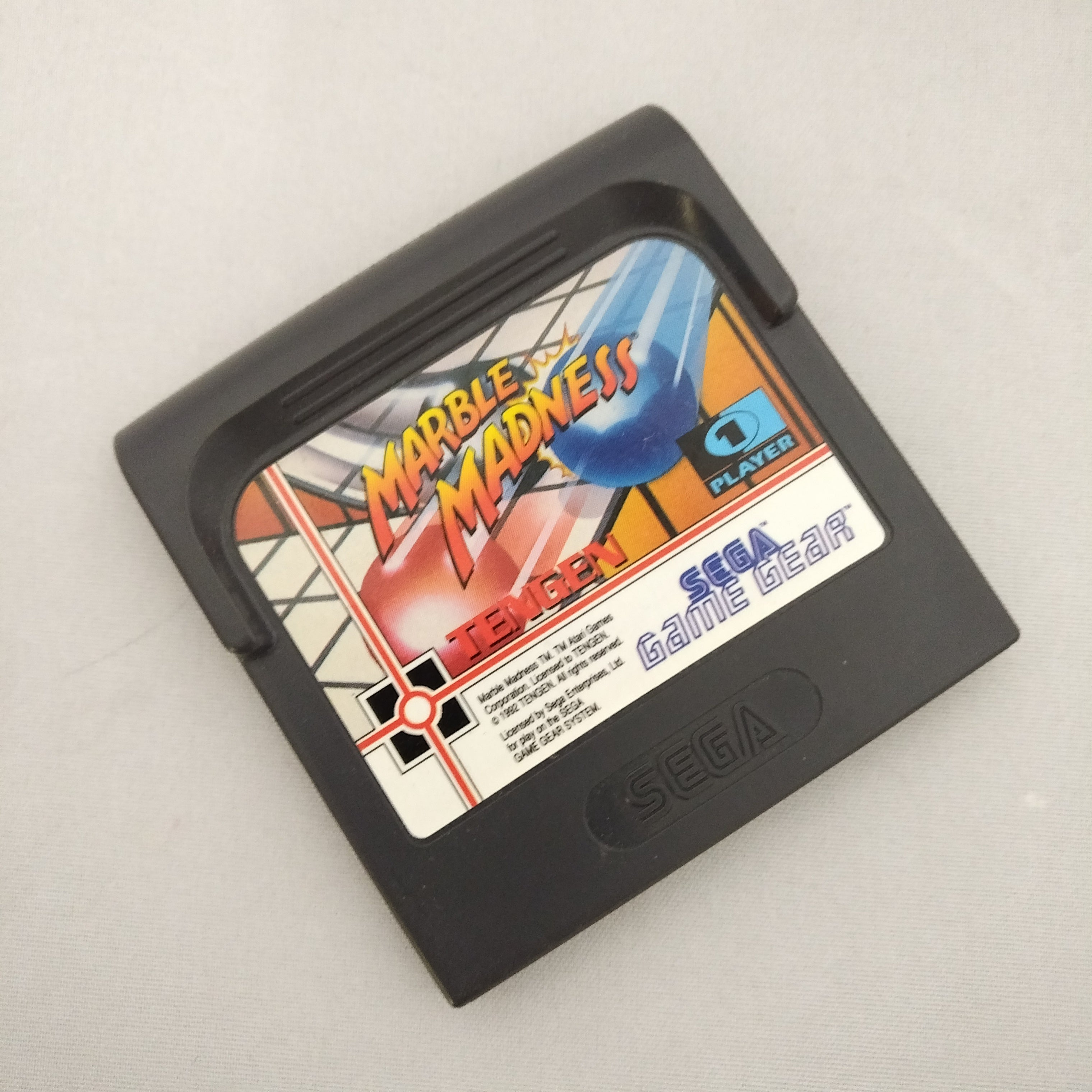 Sega GAMEGear Marble Madness Cartridge Only
