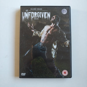 Official WWE Unforgiven 2008 DVD Ted Dibiase Rhodes Triple H