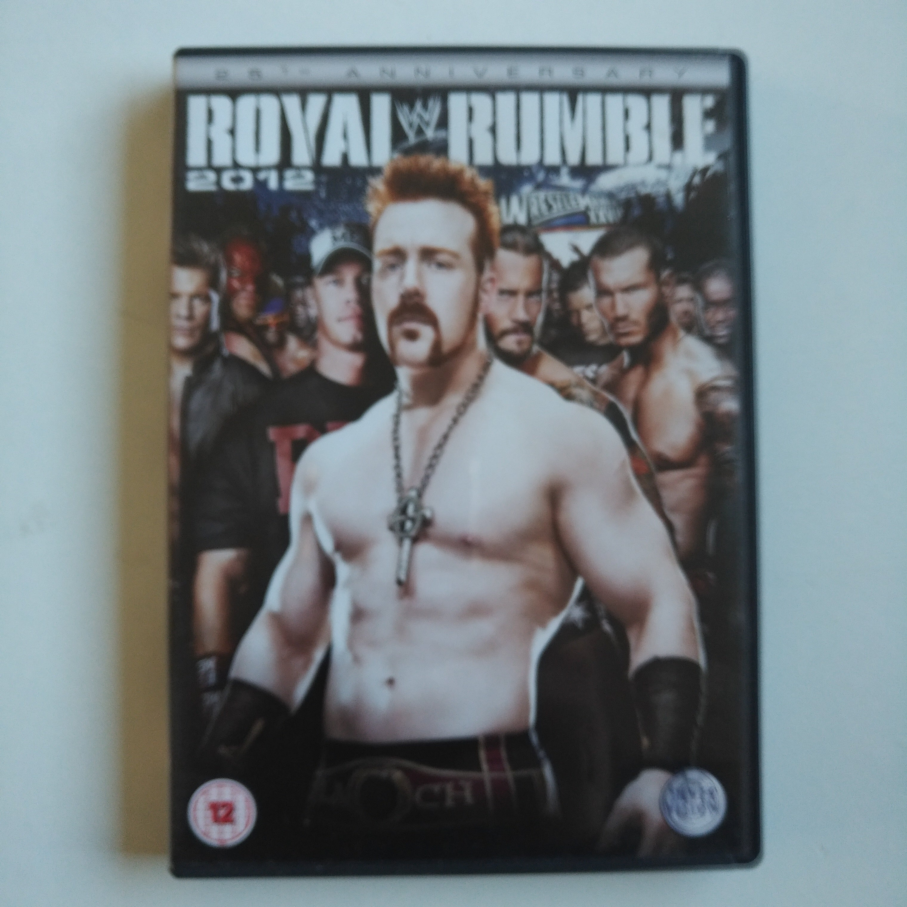 DVD Wrestling WWE Royal Rumble 2012 CM Punk Bryan Cena Big Show