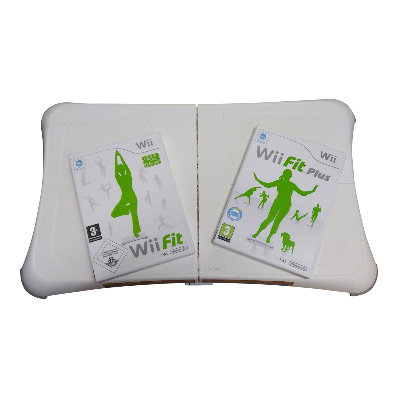 Wii Fit Board plus Wii fit plus game for Nintendo Wii +free Wii Fit game