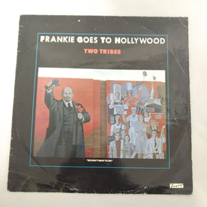 "Frankie Goes To Hollywood – Two Tribes ZTT ‎– 12 ZTAS 3 12"" Vinyl"