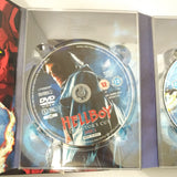 HELLBOY DVD 3 DISC DIRECTORS CUT EDITION INCLUDES COLLECTORS HELL BOY BOOKLET