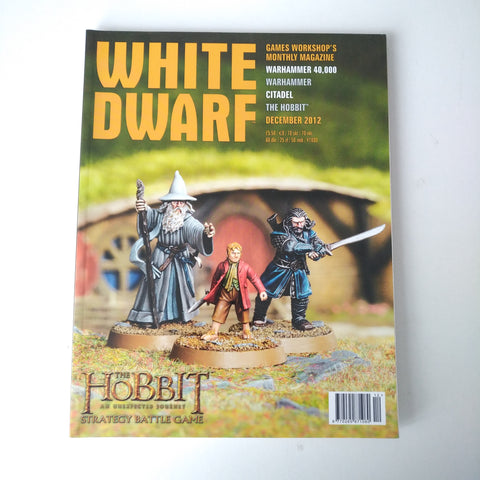 White Dwarf Magazine December 2012 MBox2855/A The Hobbit An Unexpected Journey