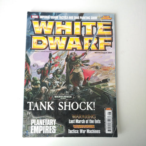 White Dwarf Magazine No.356 August 2009 MBox2894/A Tank Shock! - Planetary Empire