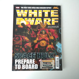 Warhammer - White Dwarf WD357 September 2009 - Prepare to Board Magazine