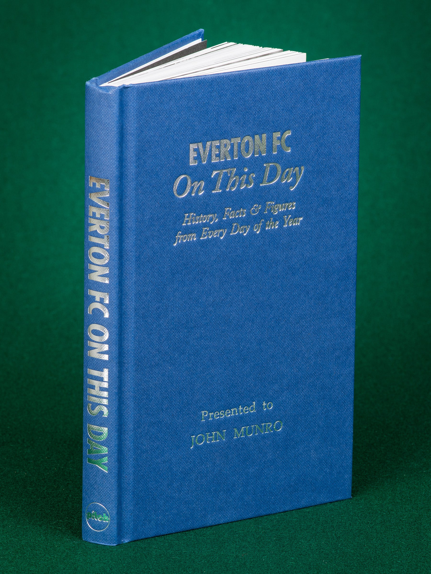 Personalised Book Everton On This Day History Goodison Park Rooney Peter Reid