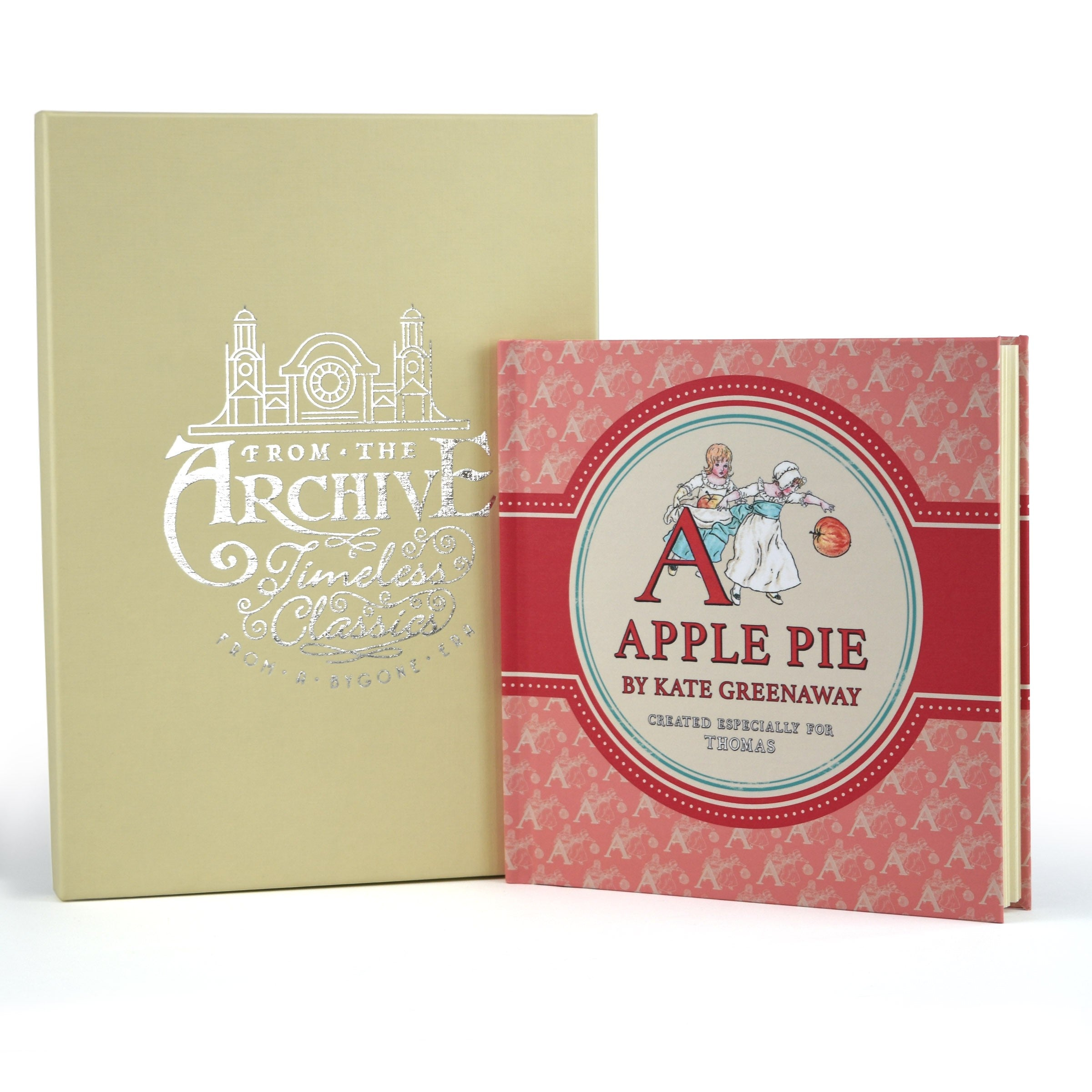 PERSONALISED Children's Book A is for Apple Pie - From the Archive Kids Learning