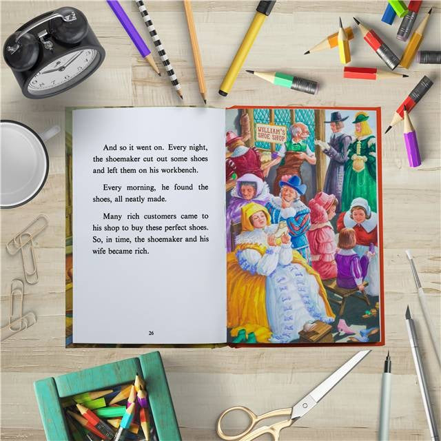 Personalised Childrens Book The Elves And The Shoemaker Classic Ladybird Story