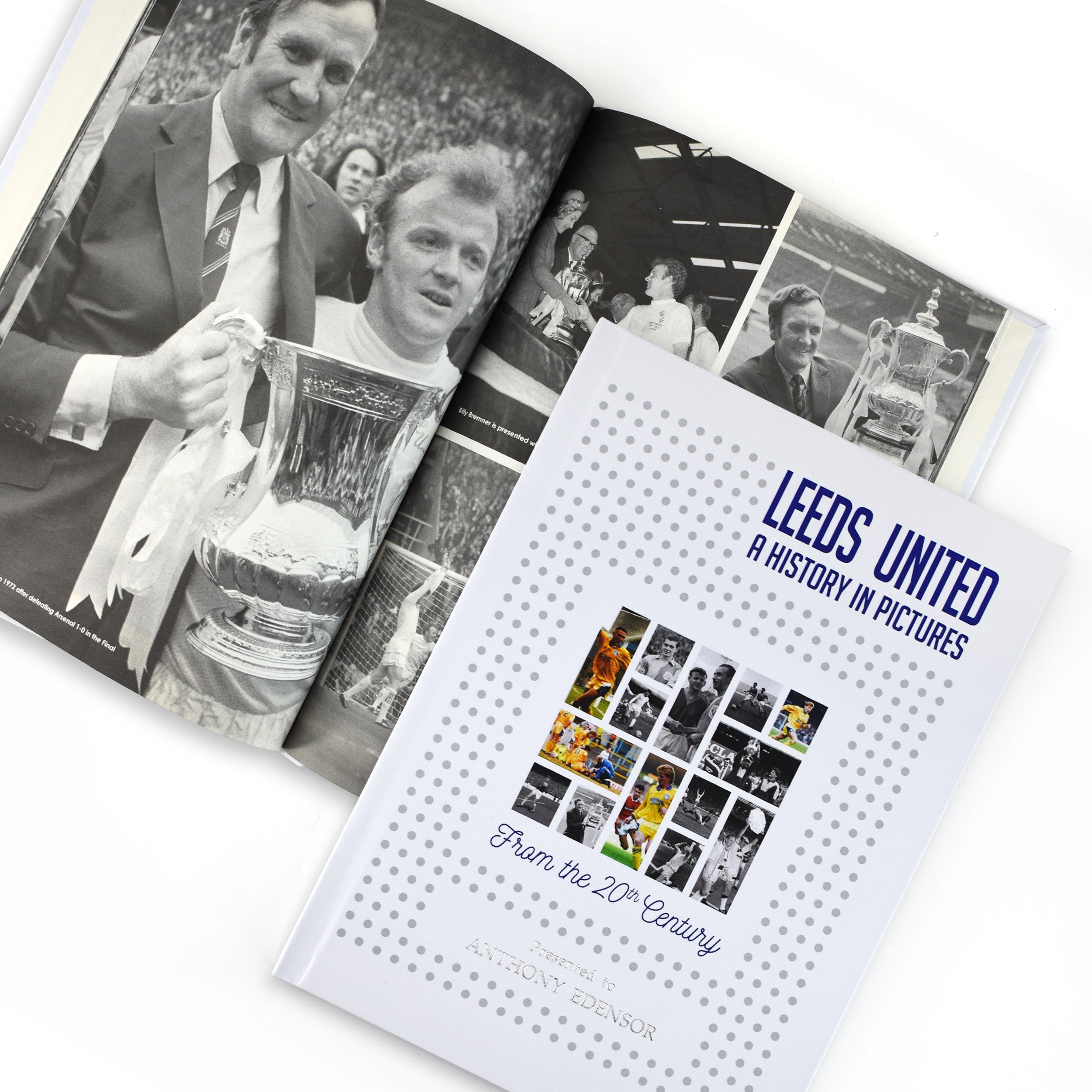 Leeds: A History In Pictures - Colour Cover Elland Road