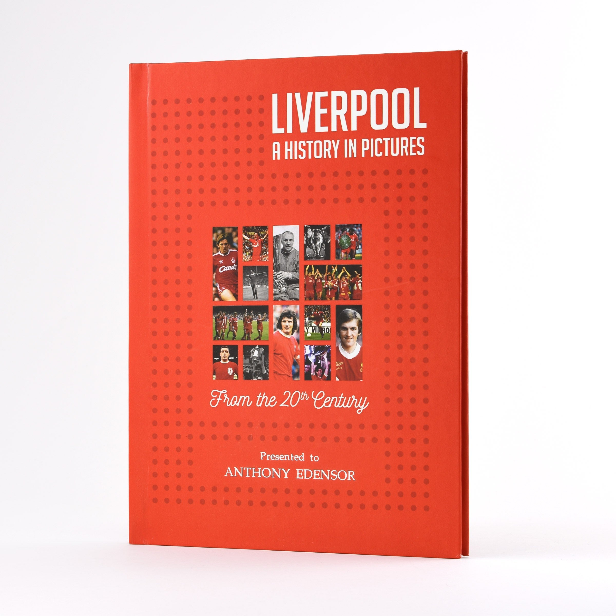 Liverpool: A History In Pictures - Colour Cover Anfield Bill Shankly Steven Gerrard