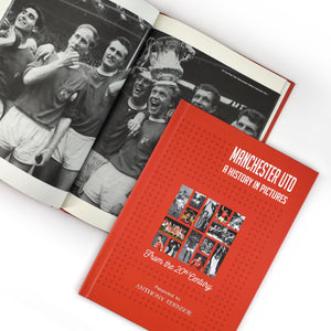 Manchester United: A History In Pictures - Colour Cover Red Devils Old Trafford