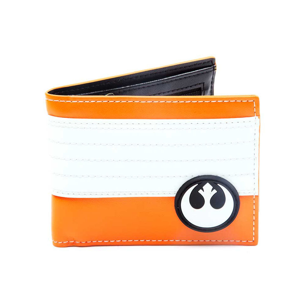 STAR WARS The Force Awakens Resistance Logo Bi-Fold Wallet, One Size, Multi-Colour