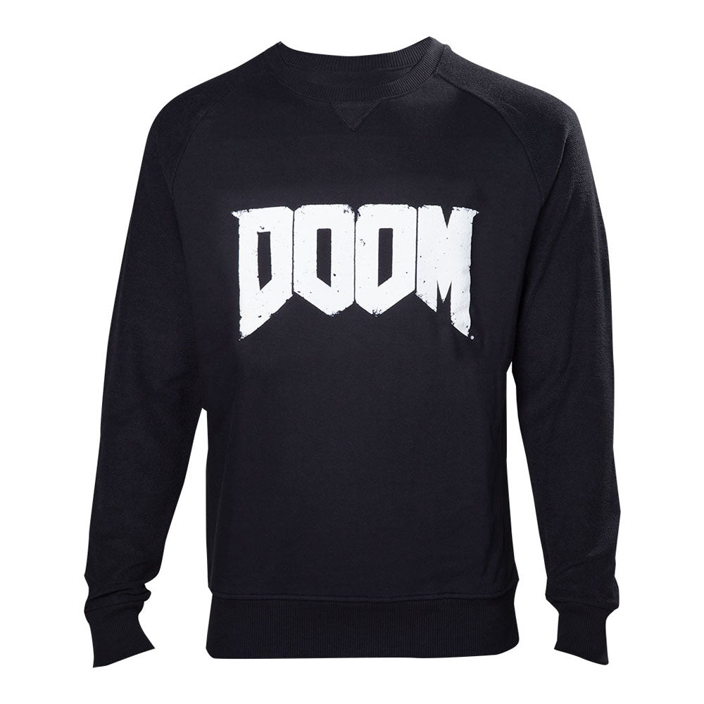 DOOM Logo Sweater, Male, Large, Black (SW240002DOO-L)