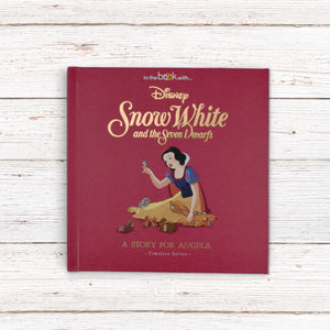 Personalised Children Book Timeless Disney Snow White Book Hardback Gift Boxed