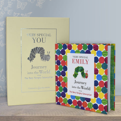 PERSONALISED Very Special You, Journey into the World - Hungry Caterpillar Book