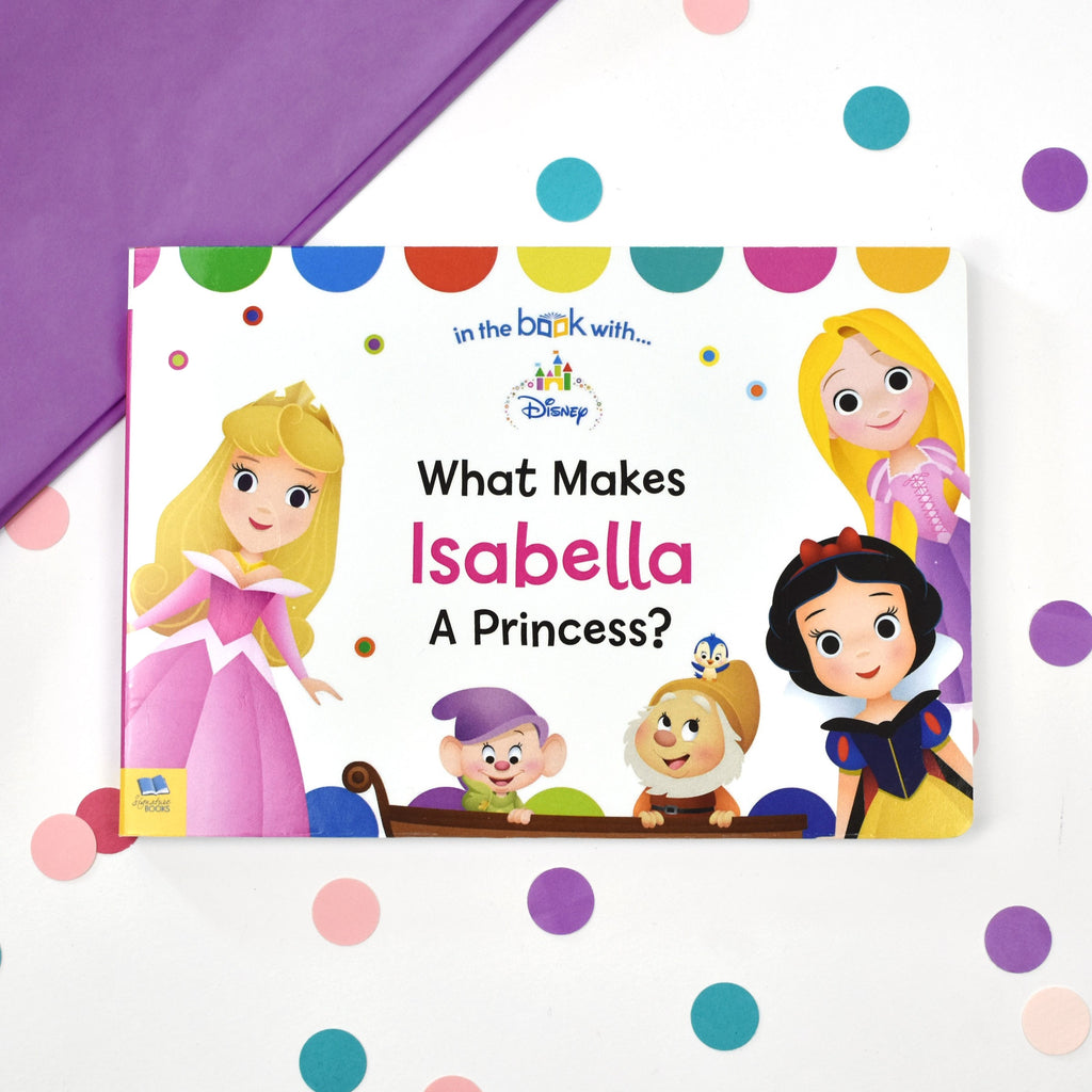 Personalised Disney PERSONALISED Children's Book :What Makes me a Princess Board