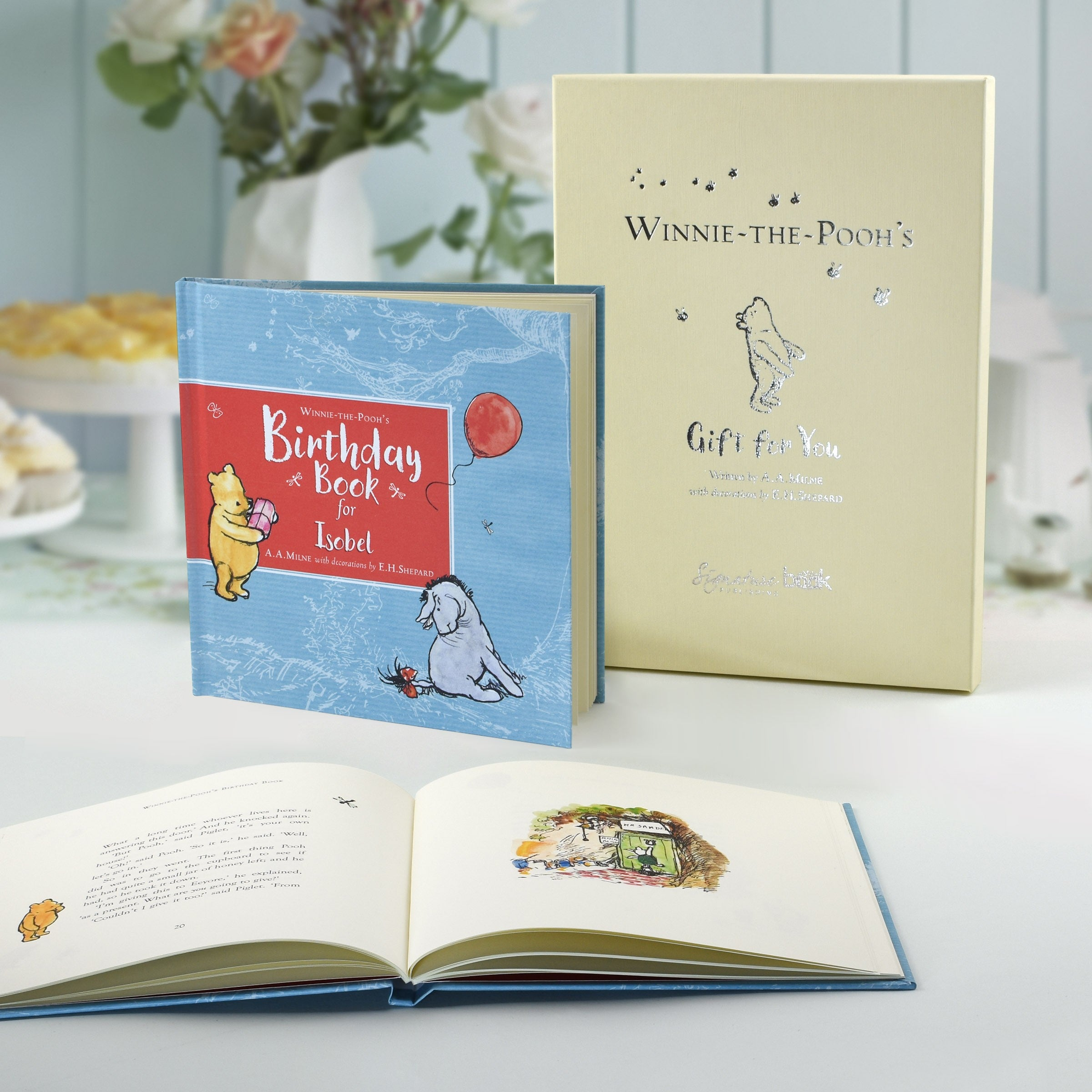 personalised childrens book winnie the pooh s birthday book gift