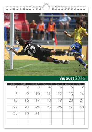 Personalised Football A3 Calendar Any Start Date 2019 2020