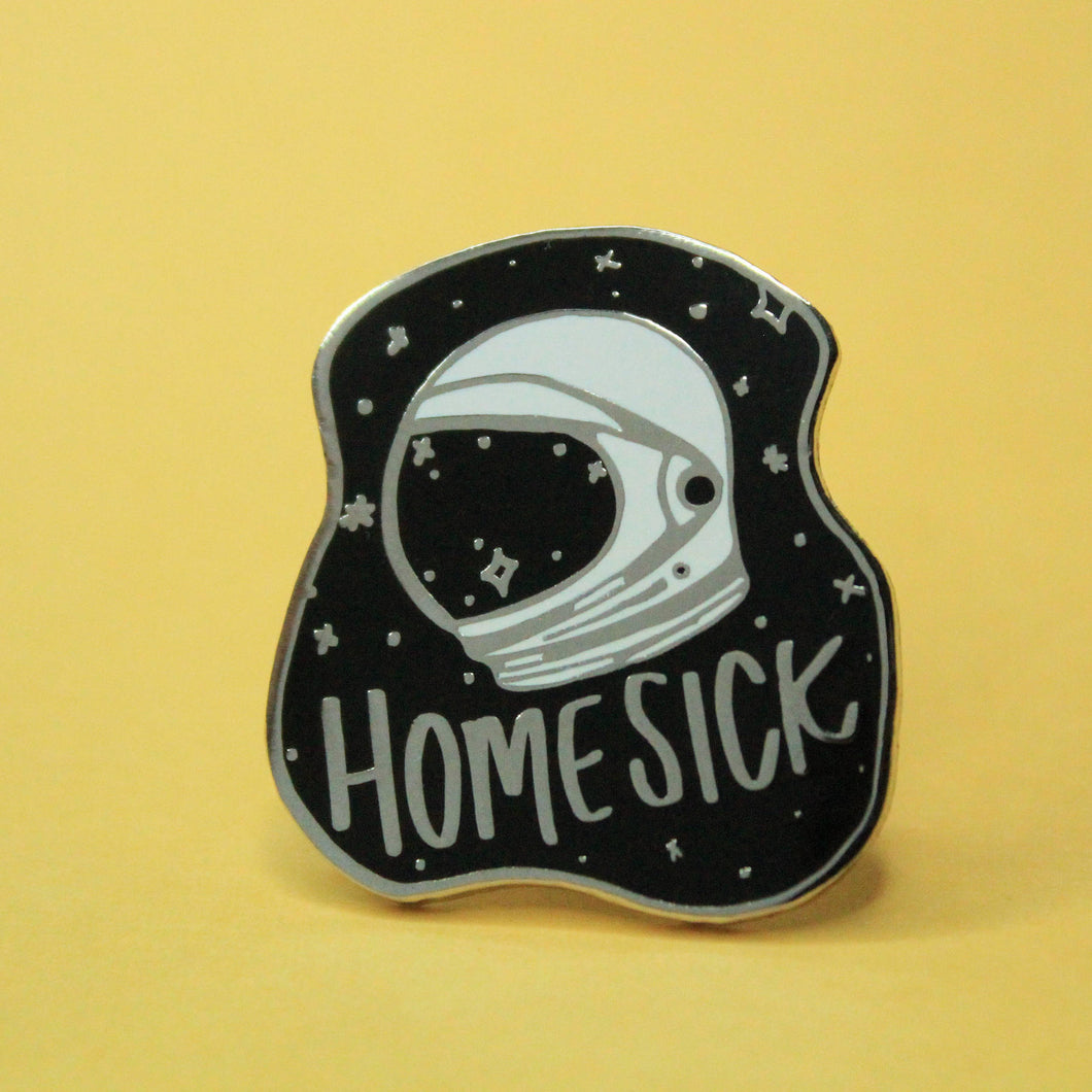 Homesick Enamel Pin - Black Variant