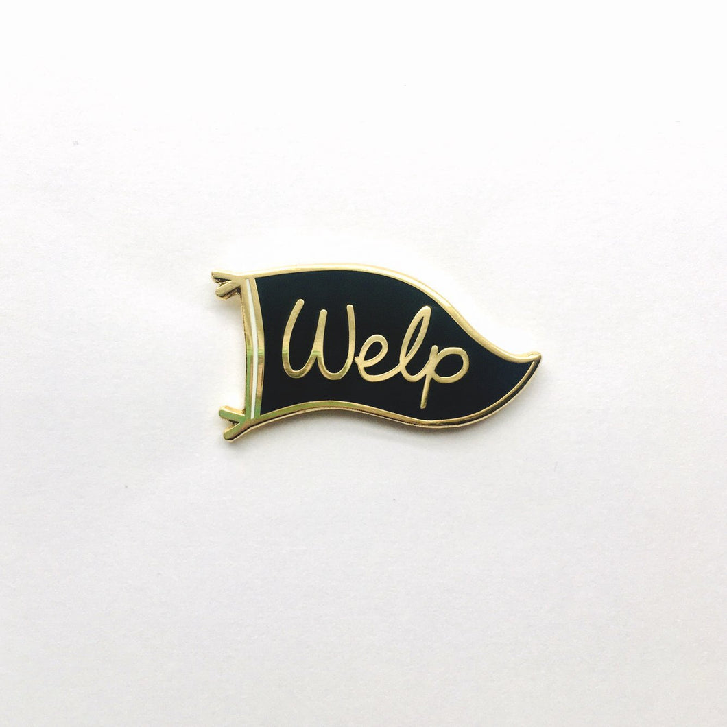 Welp - Mini Moods Vol. 1 - Enamel Pin - Two Variants - Pennant Pin