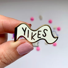Yikes - Mini Moods Vol. 1 - Enamel Pin - Two Variants - Pennant Pin