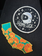 California Poppy Patch - State Flower Embroidered Patch