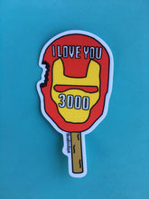 I Love You 3000 - Vinyl Sticker - Avengers Endgame