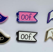 Oof - Mini Moods Vol. 1 - Enamel Pin - Two Variants - Pennant Pin