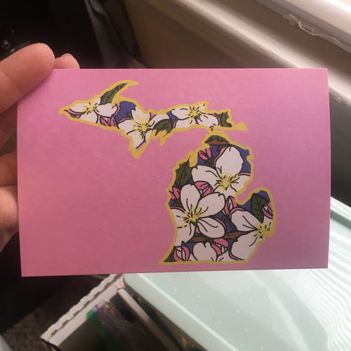 Michigan Apple Blossom - 4 x 6