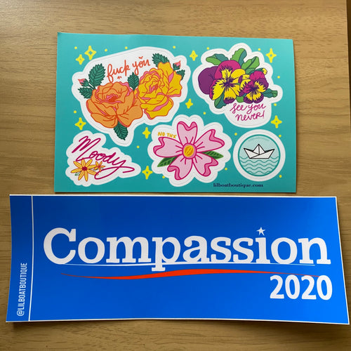 Compassion 2020 Bumper Sticker