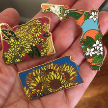 PRE-ORDER - Florida Orange Blossom Enamel Pin - State Flower Series FL