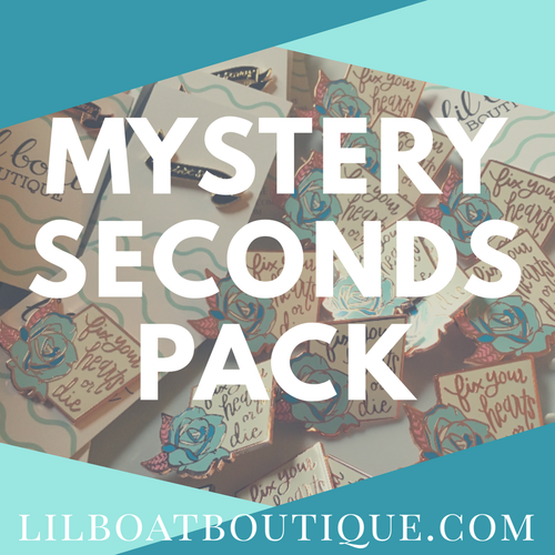 Mystery Seconds - TWO pack- Randomly Chosen - Scratch and Dent bags