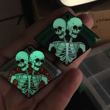 Friends Forever - Party Variant - Spooky Halloween Skeleton Enamel Pin