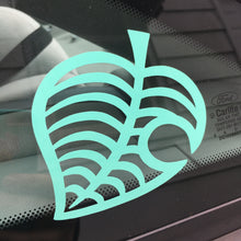 AC New Horizons Leaf Vinyl Decal - Multiple Colors