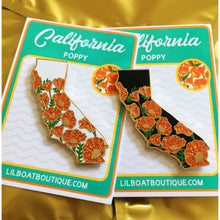 California Limited Edition Glitter Pin