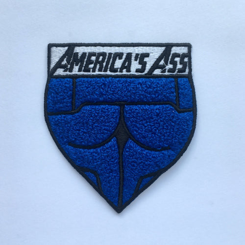America's Ass - Chenille Patch - Endgame Flair