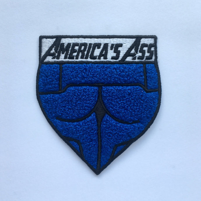 America's Ass - Chenille + Embroidered Patch