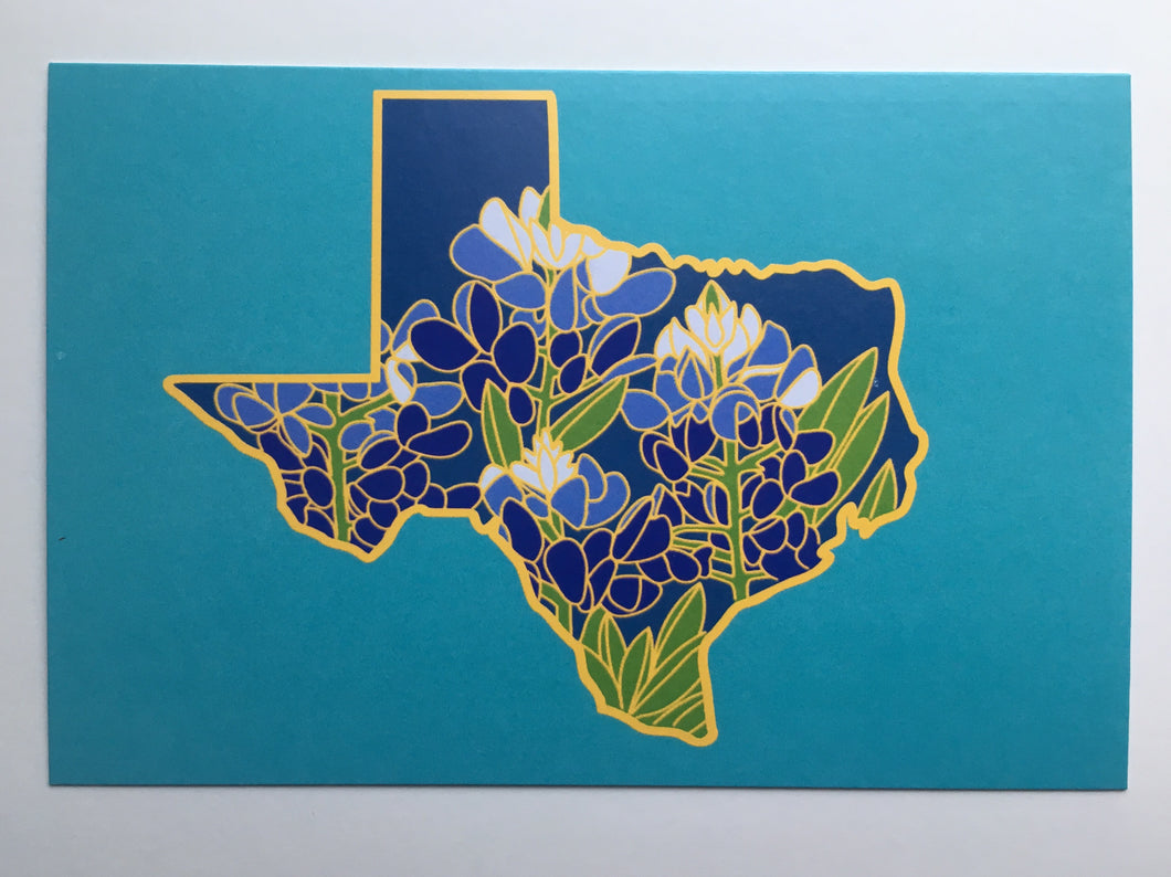 Texas Bluebonnet - 4 x 6