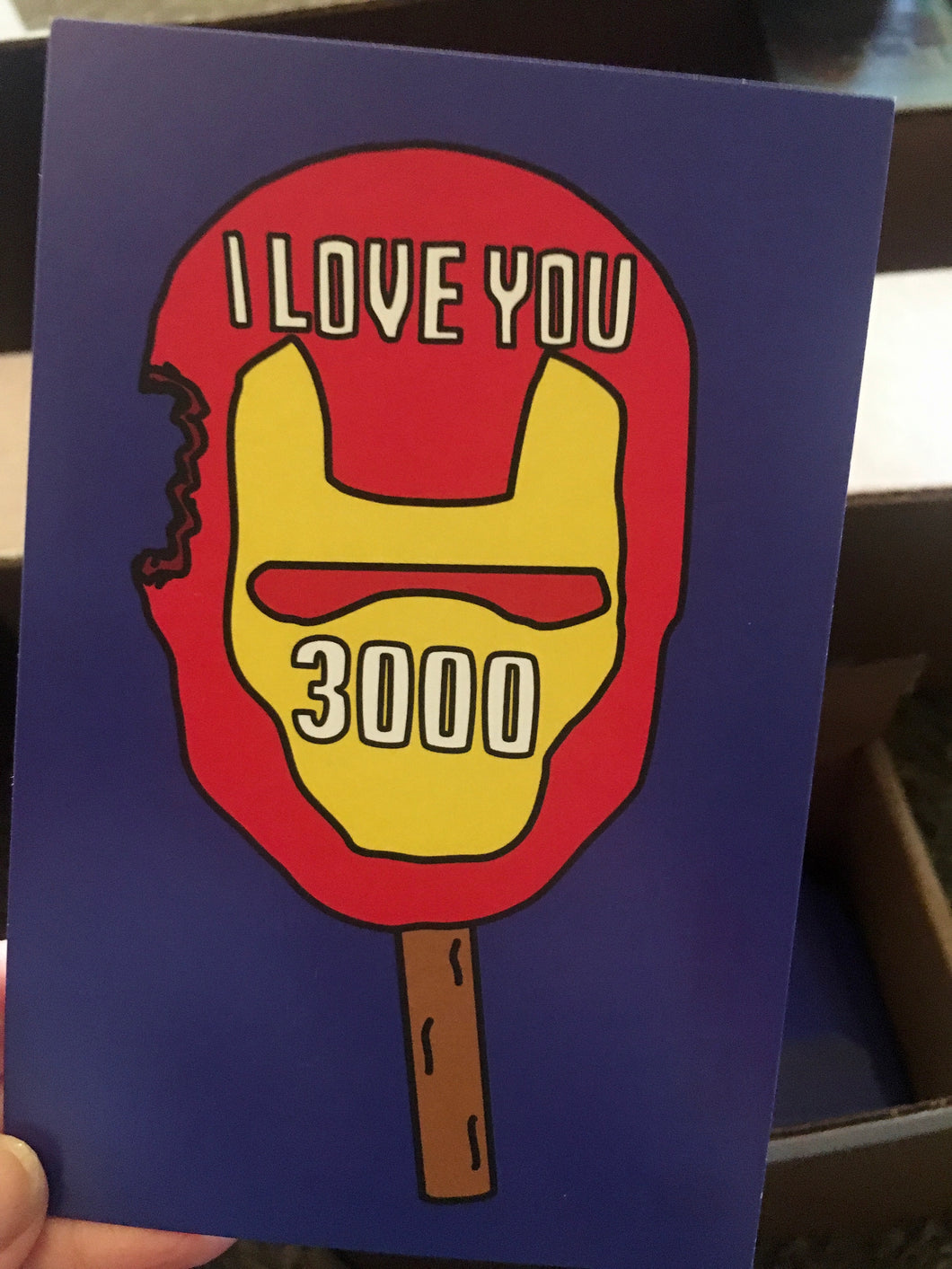 I Love You 3000 - 4 x 6