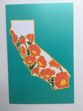 "California Poppy - 4 x 6"" Print"