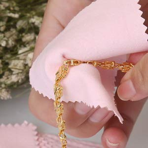 Pin Cleaning Cloth - microfiber jewelry polishing cloth