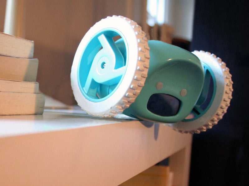 Motorized Alarm Clock That Runs Away So You Can't Snooze
